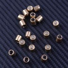 LETAOSK prensa de latón para engrasador de bolas, 20 piezas de latón de 0,6x0,6 cm, para Molino de torno de Motor