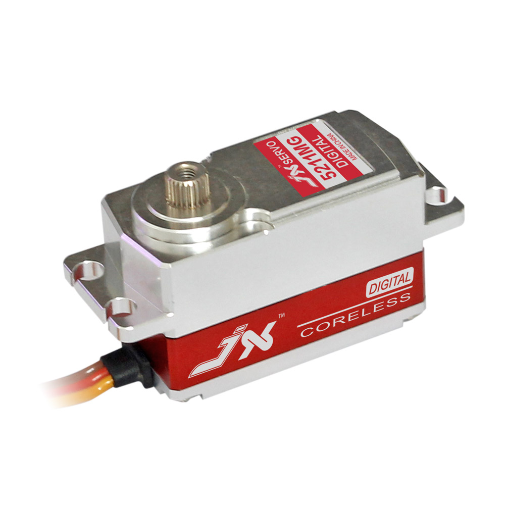 Superior Hobby JX PDI-5211MG 26.8nn High Precision Metal Gear Full CNC Aluminium Shell Digital Coreless Short body Servo superior hobby jx pdi 6208mg 8kg high precision metal gear digital standard servo