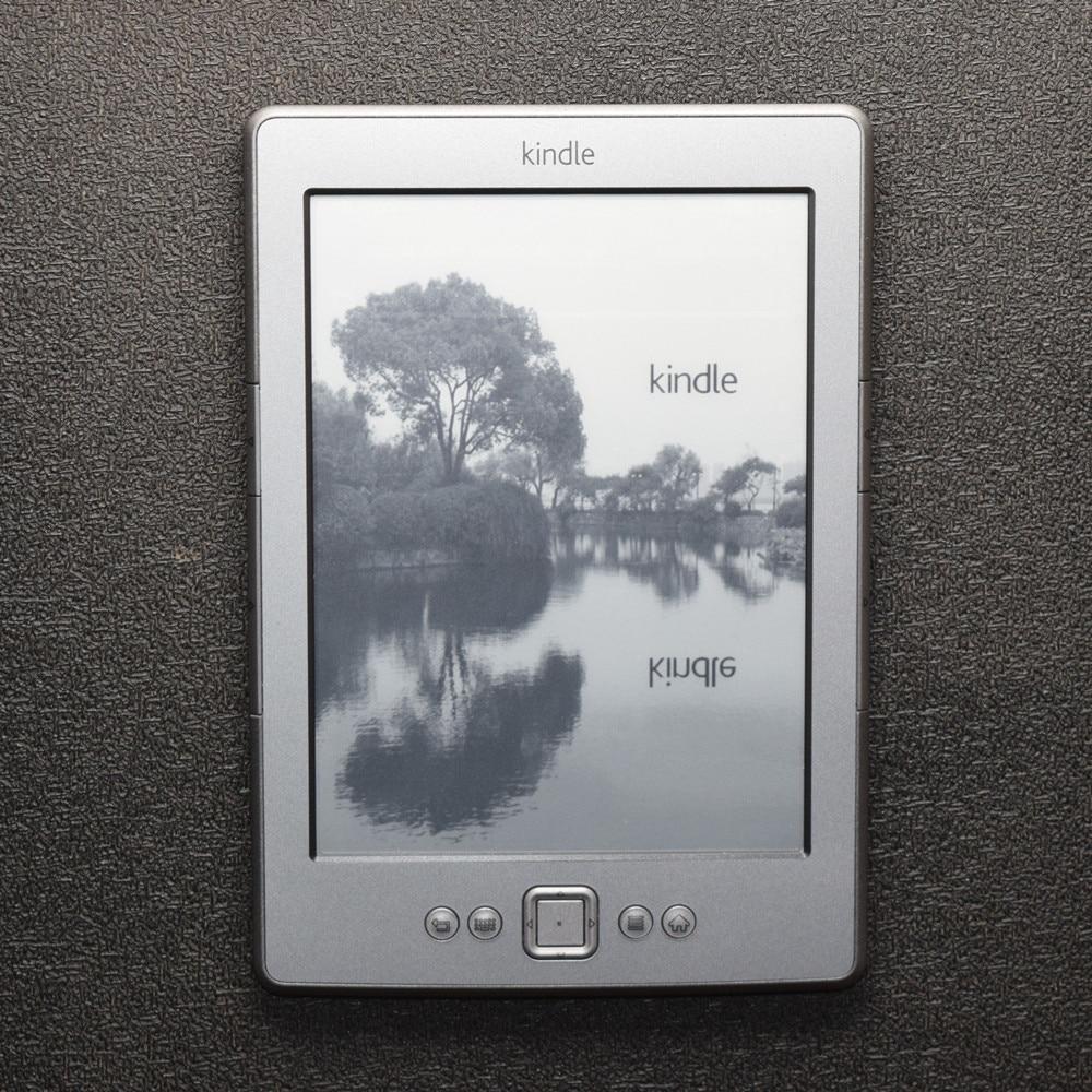 Refurbished Kindle 4  E-book E-ink Display 6 Inch Ebook Reader Electronic E Book Gray Ereader 2GB Refurbished