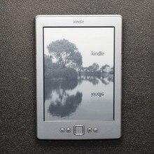 Восстановленный Kindle 4 электронная книга e-ink дисплей 6 дюймов электронная книга читатель электронная книга серый читалка 2 Гб Восстановленный