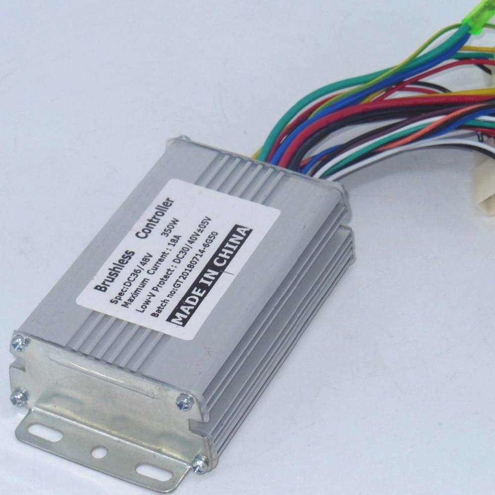 48-84V 1500W 45A max Dual Mode Sensor Sensorless Brushless DC Controller Ebikes