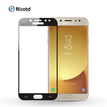 Película protectora de pantalla de vidrio templado para Samsung Galaxy J7 2017 J730F/DS J730FM/DS, J7 Pro J730F J730GM/DS J730G/DS