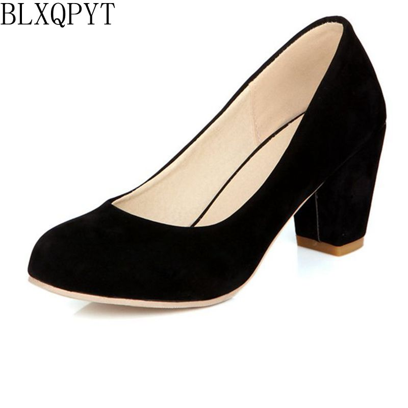 Hot Sale Zapatos Mujer Tacon Big Size 31-47 3 Colour New Spring Autumn Pumps Women Shoes High Heels round toe woman Party 222-6 choudory high heels woman pumps spring autumn flower decoration woman shoes attractive flock pointed toe party zapatos mujer