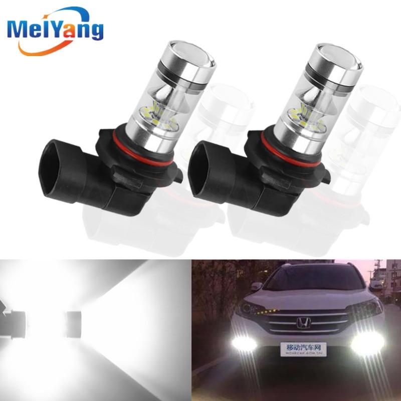 2pcs H11 H8 LED Fog Light Bulbs 9005 HB3 HB4 9006 Car Daytime Running Lights Auto DRL Driving Lamp 12V 24V 6000K White hermle 01222 03451