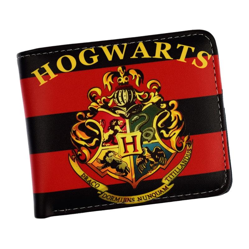 Free Shipping Harry Potter Short Wallet Hogwarts Letter Wallet Coin Purse Card Holder Dollar Price new designs harry potter print purse dollar price anime wallet leather card holder bags gift men women zipper short wallets
