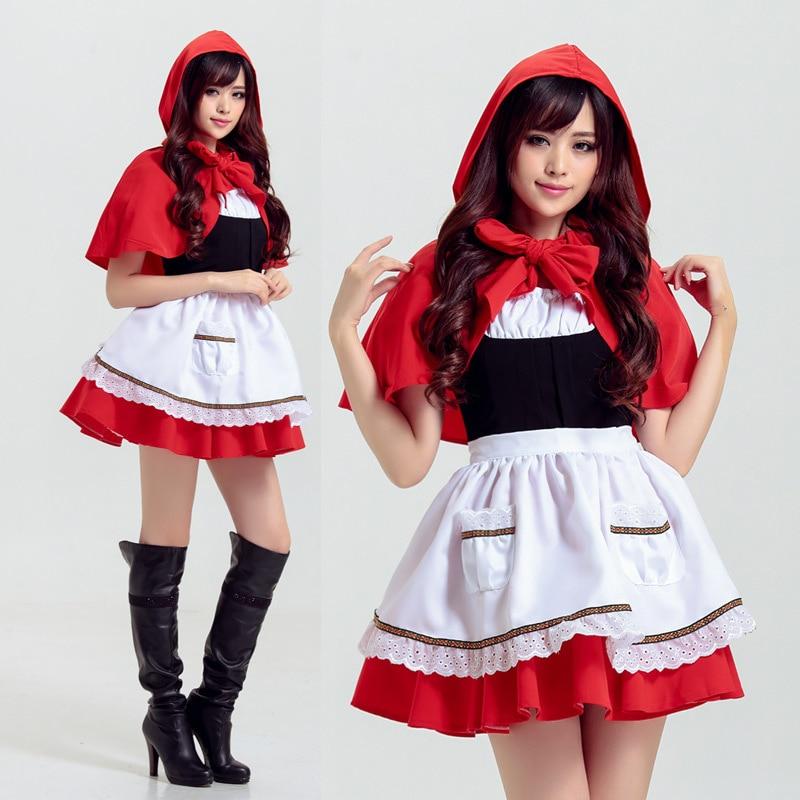 1 Set Maid Cosplay Kostuum Sjaal Rok Schort Sexy Meid Slijtage Beroep Vrouwen Vrouwelijke Meisje Mooie Gratis Verzending Nieuwe Mode Creatieve Uitgebreide Selectie;