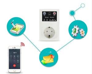 Image 5 - 16A 250VAC Drahtlose Fernbedienung Home Appliance Automation GSM Smart Telefon Steckdose Timer Schalter Wand Stecker