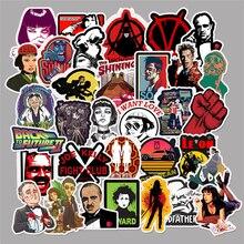 50pcs ภาพยนตร์คลาสสิกสติกเกอร์สำหรับกระเป๋าเดินทางแล็ปท็อป Art ภาพวาด Kill Bill Pulp Fiction โปสเตอร์สติกเกอร์กันน้ำสเก็ตบอร์ดของเล่น