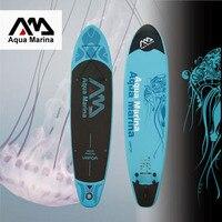 Aqua Marina 11 футов Vapor надувные sup Совета стоячего надувной борт доски для серфинга Новый SPK2