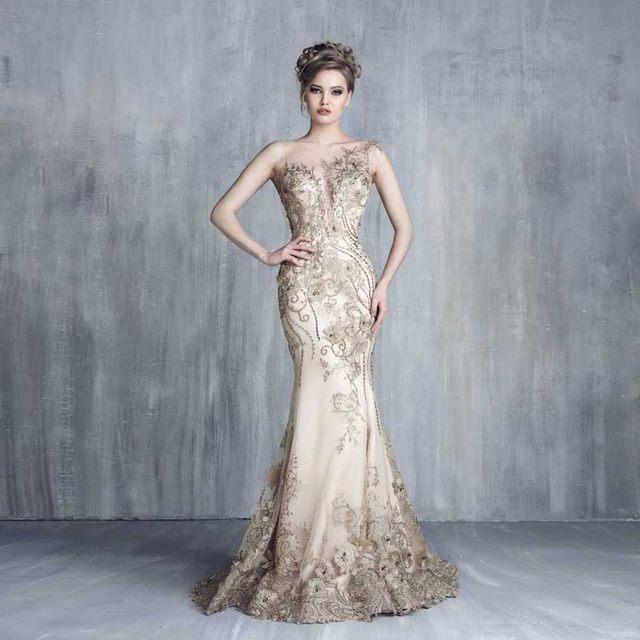Online Shop Royal Empire Haute Couture Evening Dresses with ...