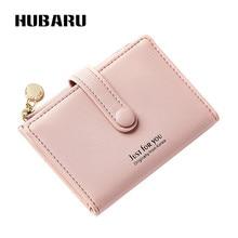 Купить с кэшбэком HUBARU Women Wallets Zipper Wallet Female Fashion Clutch Slim Design Coin Purse Clamp For Money Standard Purse