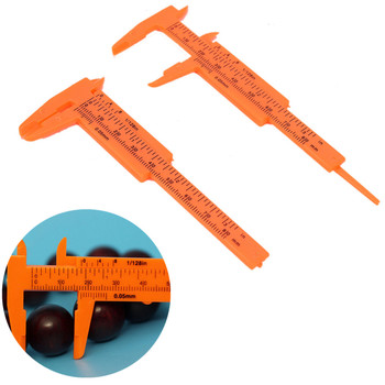 80MM Length Vernier Caliper Mini Vernier Calipers 1 Mm/mini Ruler Micrometer Gauge S Plastic Measuring Tools