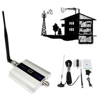 2G 3G 900mhz Mobile phone signal booster 2G 3G cell phone signal booster gsm repeater cellular amplifier with LCD Display