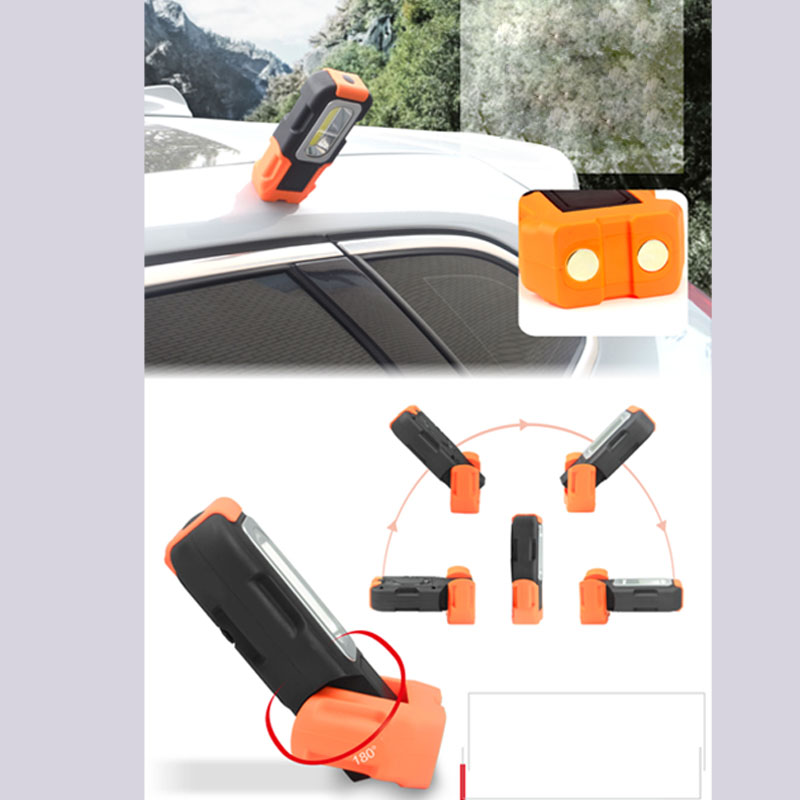 Led emergency Lamp Car Repair Working Lamps Work LED Light With Magnet Portable Lights COB For Hiking Camping Fishing Brightness