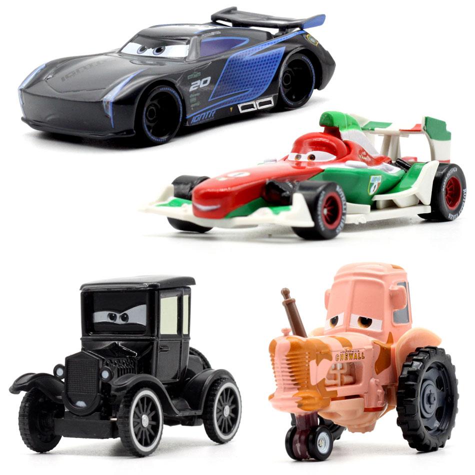 22 estilo disney pixar carros 3 para crianças jackson tempestade cruz ramirea alta qualidade carros de plástico brinquedos modelos dos desenhos animados presentes natal