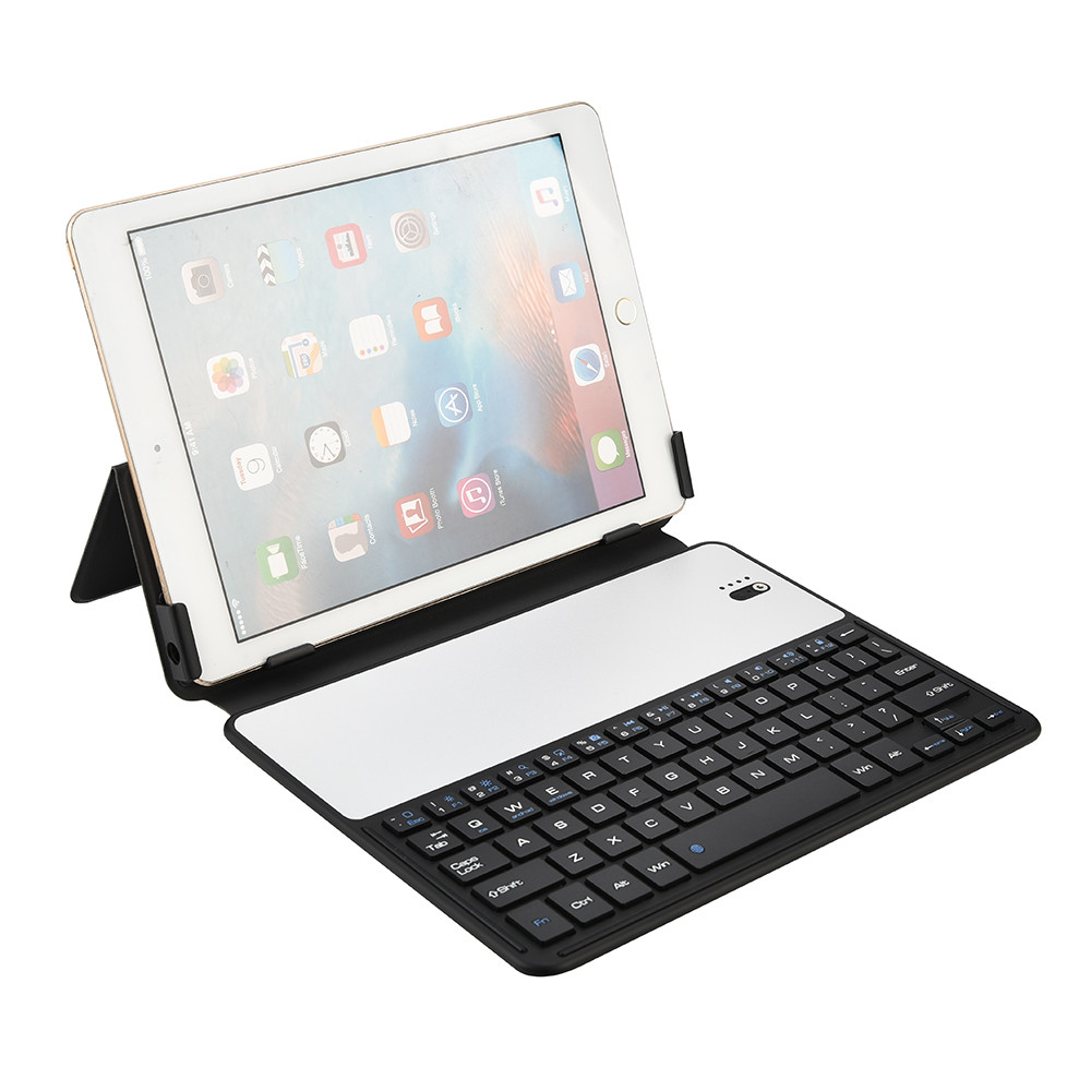 ultra thin aluminum wireless keyboard case stand cover full body protective keyboard case tablet. Black Bedroom Furniture Sets. Home Design Ideas