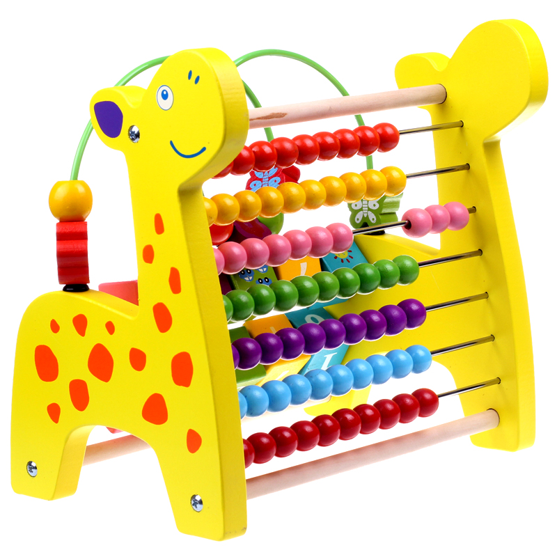 Cognitive Learning Toys : Cognitive beaded children s educational toys multifunction