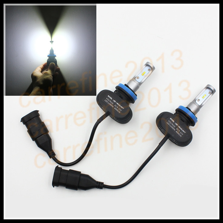 LED Low Beam Headlight Kit H8 H9 H11 50W White 8000LM H11 LED Headlight Lamp Car LED Headlight H11 head lamp conversion kit
