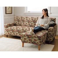 Sofa set jacquard fabric non slip elastic flower blended waterproof cloth durable sofa set one two three seat sofa covers custom