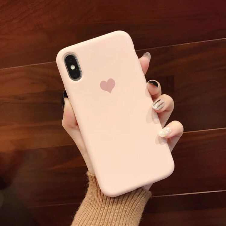 Милый чехол с сердечком 3d-силикон чехол для iPhone XR XS Max X 6 6 S 7 8 Plus чехлы для телефонов хорошее чувство молочно-розовый зеленый Capas