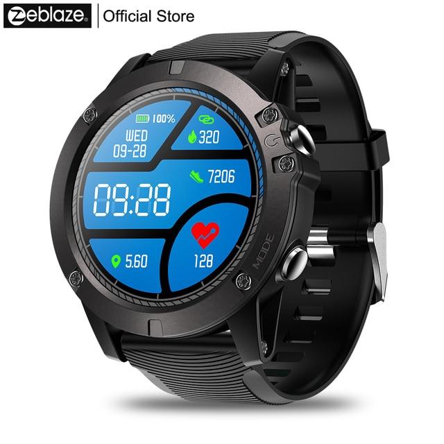 Zeblaze VIBE 3 Màu Sắc CHUYÊN NGHIỆP Hiển Thị Cảm Ứng Thể Thao Smartwatch Trái Tim Tỷ Lệ IP67 Thời Tiết Không Thấm Nước Từ Xa Âm Nhạc Người Đàn Ông Cho IOS & android