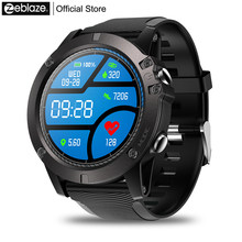 Zeblaze VIBE 3 PRO Color Touch Display Sports Smartwatch Heart Rate IP67 Waterproof Weather Remote Music Men For IOS & Android(China)