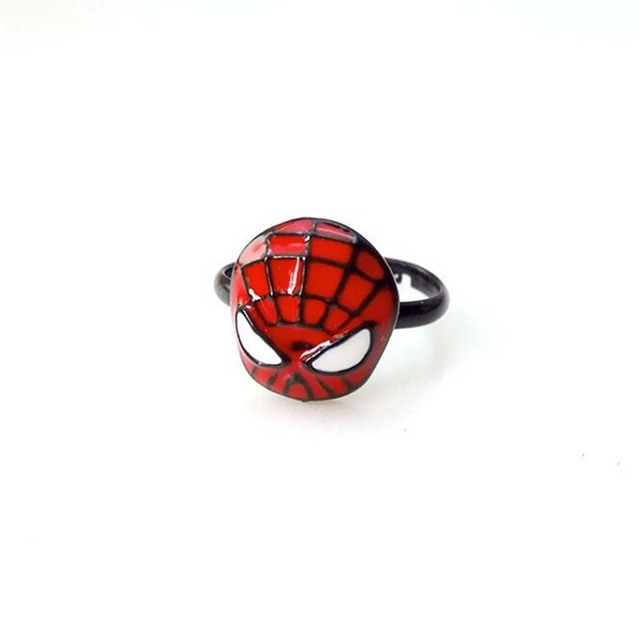 Spiderman Metal Ring