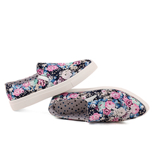 2016 High quality women's flat casual shoe slip on comfortable upper material loafer