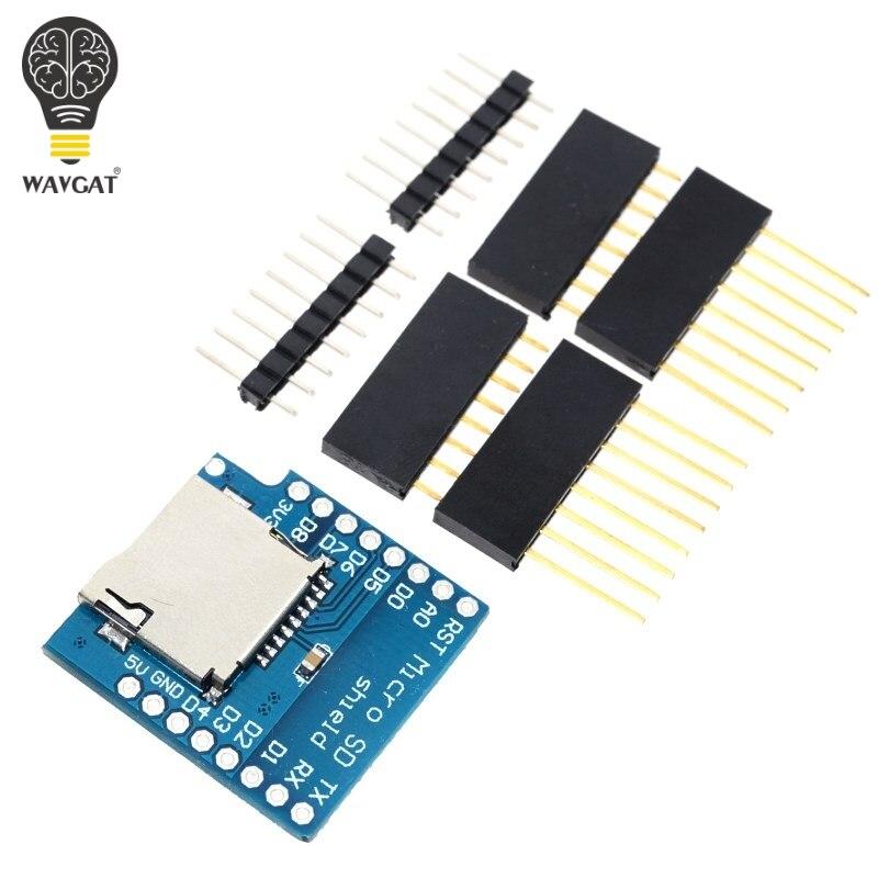 ₩Expansión de almacenamiento Micro SD para D1 mini micro SD TF ...
