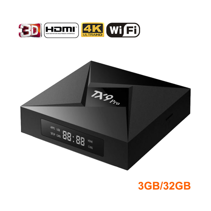 Tanix TX9 Pro Android 7.1 TV Box Amlogic S912 Octa-core CPU Set-top TV Box 3GB 32G Bluetooth 4.1 1000M LAN Smart TV Box PK X92 nikon sportstar ex 8x25 dcf