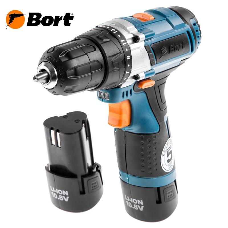 Cordless Drill Bort BAB-108Nx2Li-FDK