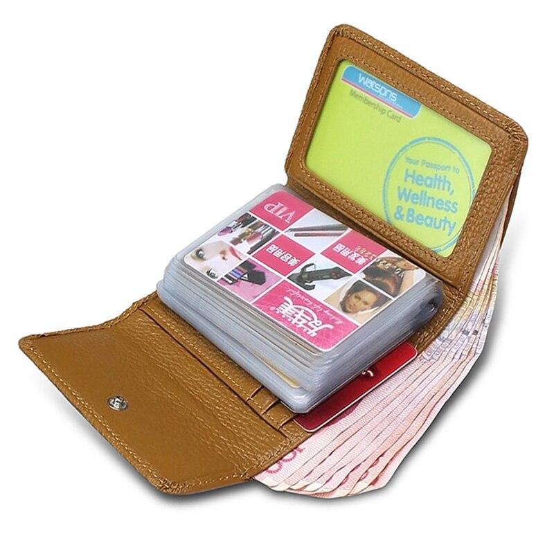 Offres spéciales couverture de passeport célèbre marque en cuir véritable porte-carte de crédit femmes portefeuille avec 24 fentes sac à main cadeau de luxe A228