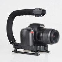 Camera Flash Bracket Holder Steady Grip Video Handle Handheld Stabilizer Grip For DSLR SLR Camera Phone