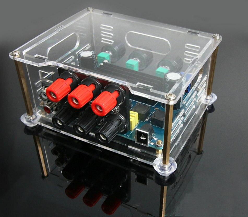 OTM566 haute puissance 2.1 amplificateur numérique, TPA3116D2 stéréo + Subwoofer Amplificateur Audio