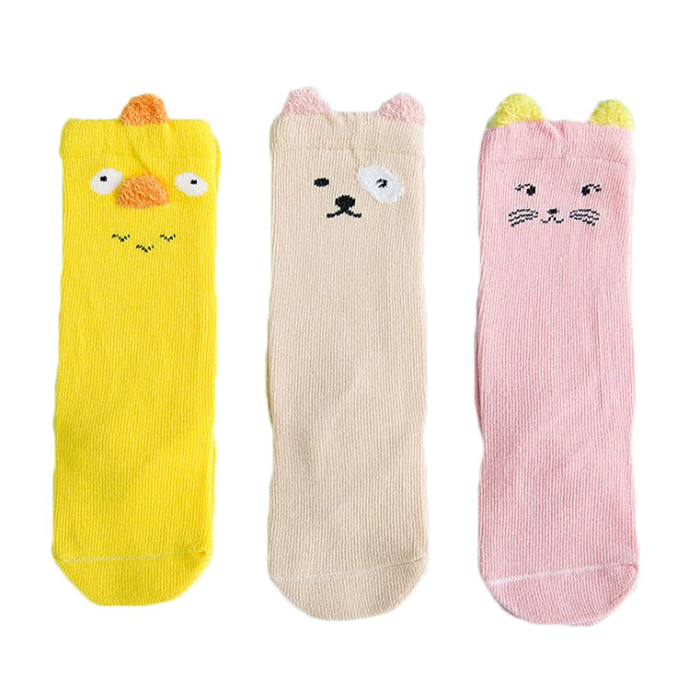 Apprehensive 3 Pair Unisex Lovely Cute Cartoon Kids Baby Socks Girl Boy Baby Toddler Socks Animal Infant Soft Cotton Socks For 0-3 Years Baby To Win A High Admiration And Is Widely Trusted At Home And Abroad. Girls' Clothing