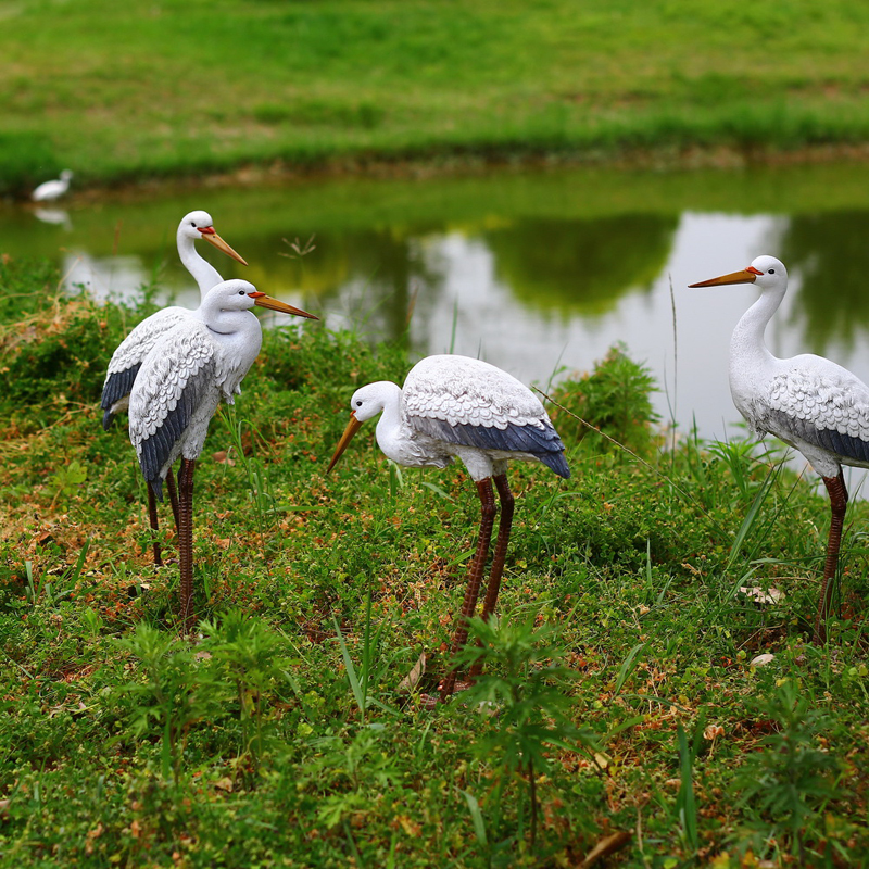 Online buy wholesale china bird figurines from china china for Artificial birds for decoration