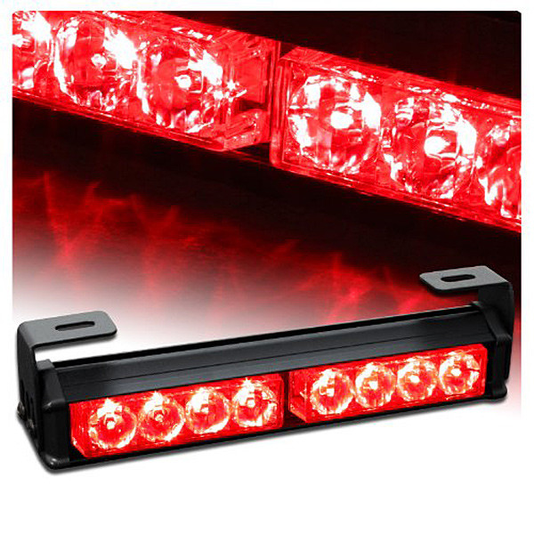 09003  9.5 Hazard Emergency Warning Tow Traffic Advisor Strobe Light Bar  flash rover lights rear brake lights zone bar lights детское мыло