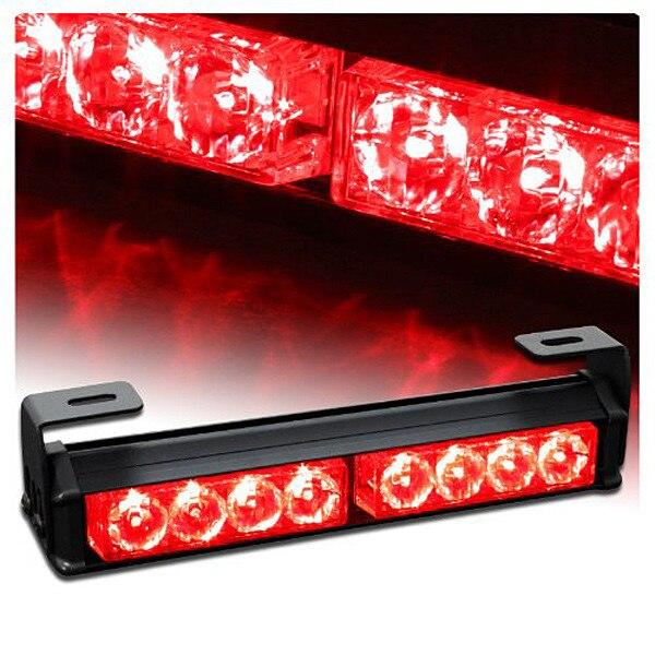 09003 9.5 Hazard Emergency Warning Tow Traffic Advisor Strobe Light Bar flash rover lights rear brake lights zone bar lights