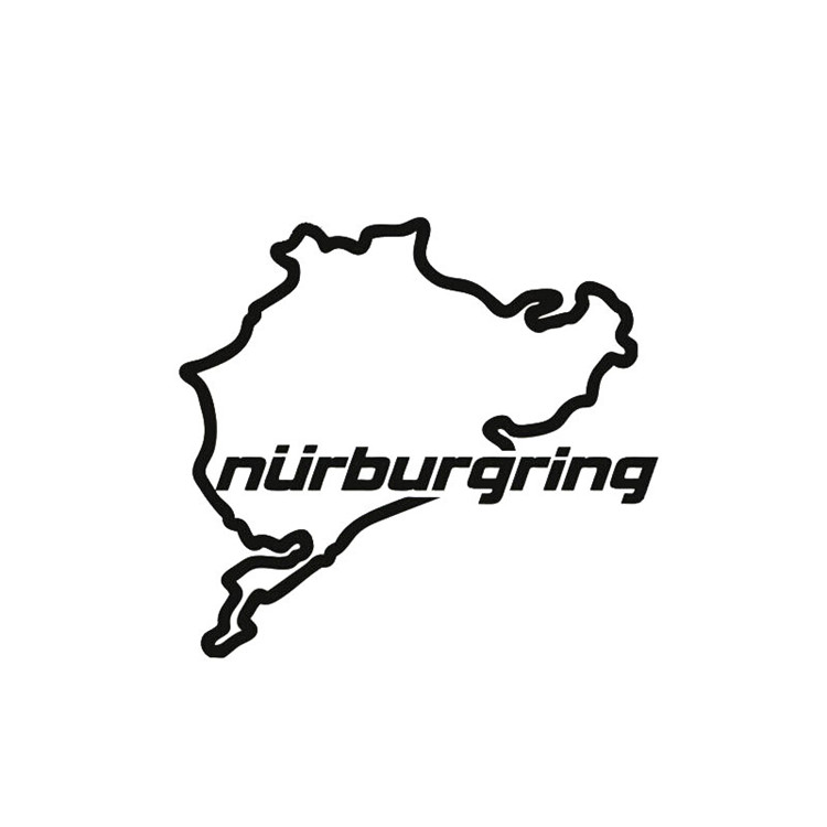 Window Sticker 14cm*12.5cm Racing Road Racing Nurburgring Funny Stickers And Decals Vinyl Sticker On Window Styling Back To Search Resultstoys & Hobbies