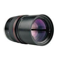 135mm F/2.8 Full Frame Retrato Principal Foco Manual Lente para Canon ou Nikon DSLR Camera 1300D 700D 5D2 7D 6D 70D D3300 D5500 D800