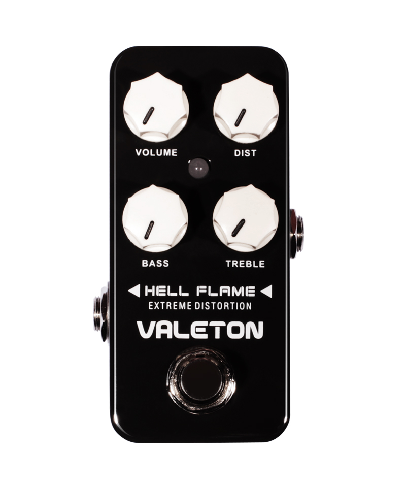 Valeton Coral Series Hell Flame Extreme Distortion Analog Electric Guitar Effects Pedal True Bypass bass CDS-3 social distortion social distortion somewhere between heaven and hell lp