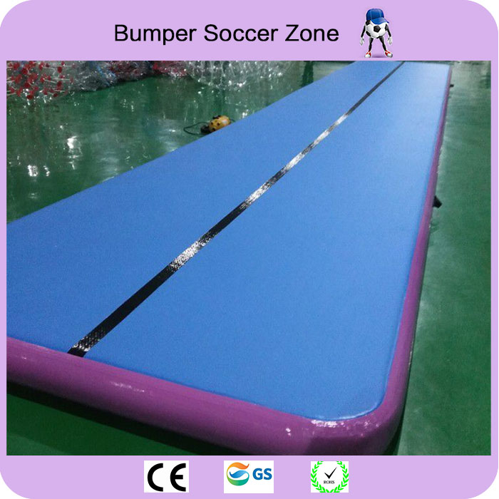 Free Shipping 12*2m Inflatable Air Tumble Track Air Track For Tumbling Inflatable Gym Air Track Free a Pump hot sale inflatable gym air track gymnastics equipment tumbling mats with free pump and free shipping 10m x 1 5m x 0 1m
