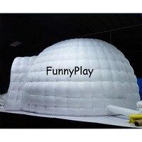 Publicité gonflable tente Gonflable pelouse cube tentes, gonflable carré camping tentes avec la lumière, gonflable tente pour Tions Expositions