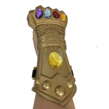 2018 Hot Movie The Avengers Infinity War Gauntlet Cosplay Halloween Party Props Gloves Superhero Avengers Thanos Glove