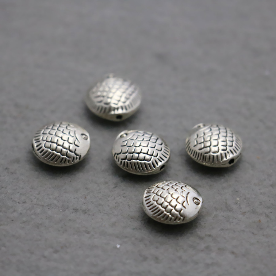 10PCS Boutique Hardware Metal Fittings for Accessory DIY components Findings Silver-plate Jewelry Making Design buttons jewelry