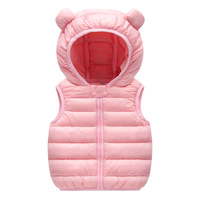 2018 NEW Solid Warm Girl Coat Children Kid Baby Girl Winter Clothing Jacket Baby Boy Vest