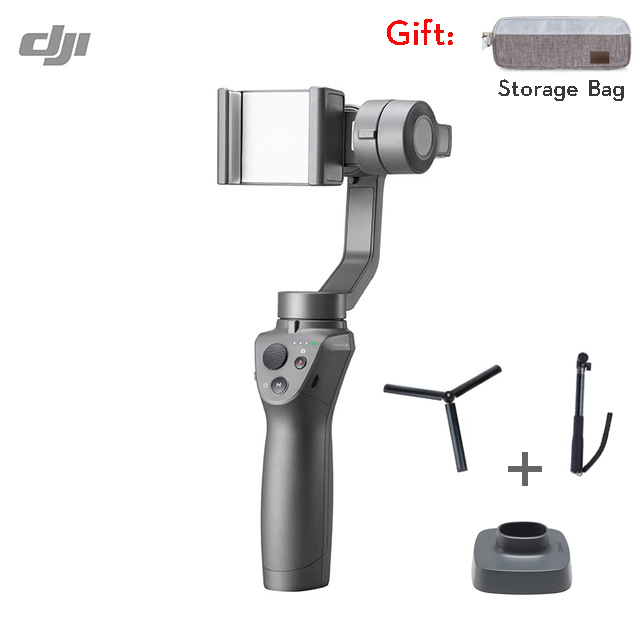 DJI OSMO Mobile 2 Handheld 3 Axis Gimbal Stabilizer OM2 with Smooth Video Motion Timelapse Zoom