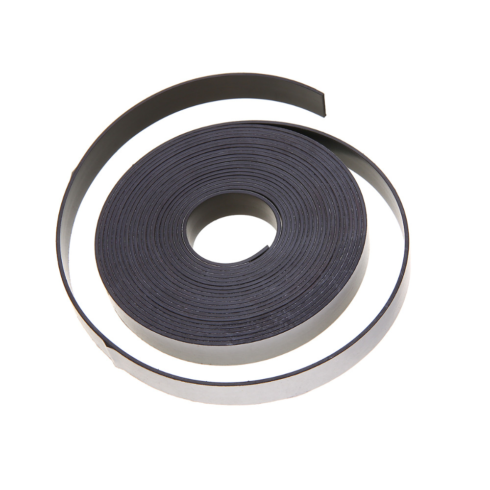New 5M Rubber Magnetic Stripe Self Adhesive Flexible Magnet DIY Strip Tape For Home School Supplies цена и фото