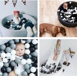 20 pièces-7 cm bébé Antistress jouer océan balles enfants Stress balle coloré en plastique balle piscine Pit jeu jouets pour enfants ballon cadeau