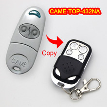 Copy CAME TOP-432NA Remote control CAME TOP432NA Garage remote control universal 433 MHz garage door remote control duplicator nice flo1 flo2 flo4 garage door remote control replacement duplicator